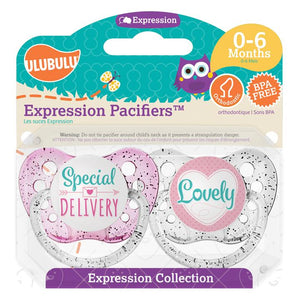 SPECIAL DELIVERY & LOVELY 0-6mths Pacifier