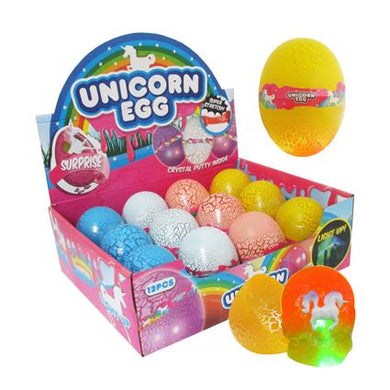 Putty Flash Unicorn Egg