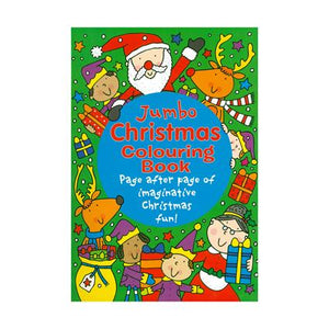 Xmas Jumbo Colouring Book