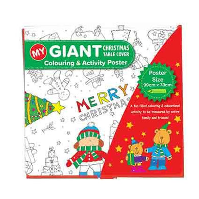 Xmas Giant Colouring Poster 99cm