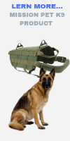 MORE BLOGS MORE FUN mission pet K9