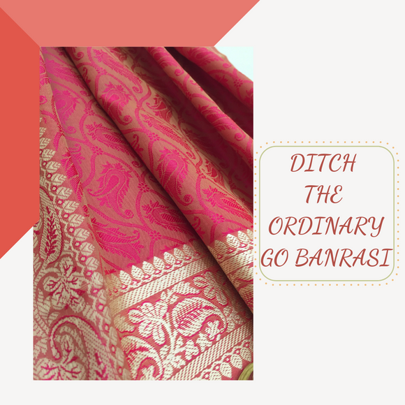 Time for a Sassy Ethnic Upgrade to your Dupattas - Go Banarasi!
