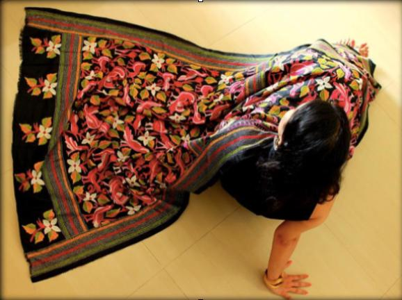The Vanishing art of Kantha work