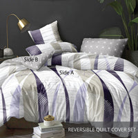 Relax  Basile Fitted Sheet Set / Quilt Cover Set