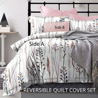Relax  Elise Fitted Sheet Set / Quilt Cover Set
