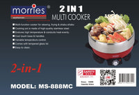 MORRIES MULTI COOKER 3.0L MS-888MC