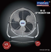 "MORRIES 12"" VELOCITY FAN VF-12"
