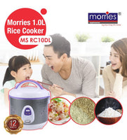 MORRIES RICE COOKER 1L MS-RC10DL