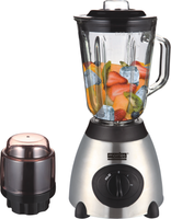 MORRIES 1.5L 2 IN 1 BLENDER (GLASS) MS-8305B