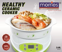 MORRIES MS30HC HEALTHY CERAMIC COOKER