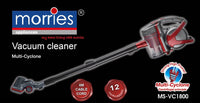 MORRIES MULTI-CYCLONE VACUUM CLEANER MS-VC1800