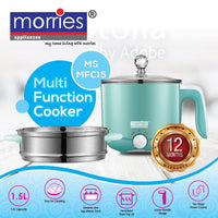 MORRIES 1.5L MULTI FUNCTION COOKER MSMFC15 (BLUE)