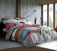 Cyprus 100% Cotton Quilt Cover Set