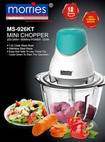MORRIES 1L MINI CHOPPER MS-926KT