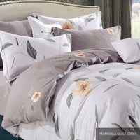 Aussino Inspire Abby Fitted Sheet Set / Quilt Cover Set