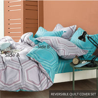 Relax Austra Fitted Sheet Set / Quilt Cover Set