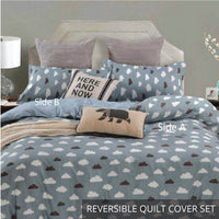 Relax Mina Fitted Sheet Set / Quilt Cover Set