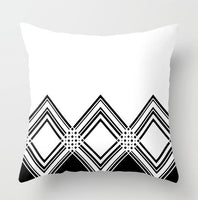 ZENGA Geometric Nordic Cushion Cover decorative cushion Throw Pillow Cover Polyester Cushion Case Sofa Bed Decorative Pillowcase