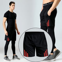 Men's Casual Shorts for Men Sporty Basketball Running Biker Workout Training Short Trunks Male Gyms Fitness Jogger Beach Shorts