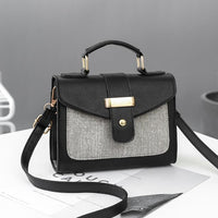 REPRCLA Fashion Shoulder Bag Handbag Small Flap Women Messenger Bags PU Crossbody Bags Ladies Purse