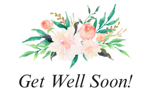 Get Well Soon - Natural Bath Gift Set - Gift Good Vibes