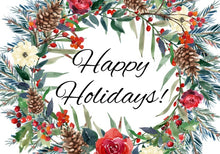 Load image into Gallery viewer, Happy Holidays - Holistic Gift Box for Women or Men - Large - Gift Good Vibes