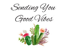 Load image into Gallery viewer, Send Good Vibes - Natural / Organic Wellness Care Package - Gift Good Vibes
