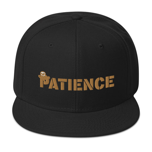 Sloth Patience, Snapback Hat
