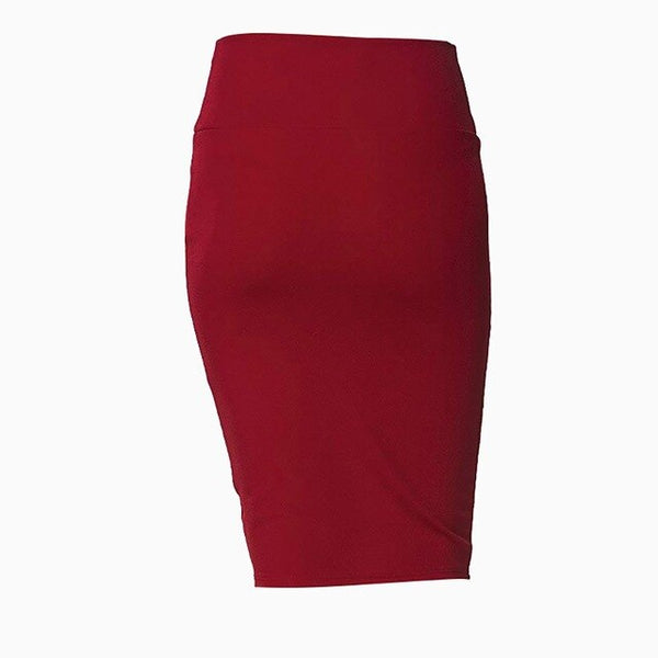 Women's Tight Waist Half-Length Pencil Skirt