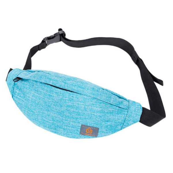 Men's And Women's Simple Versatile Casual Sports Waist Packs