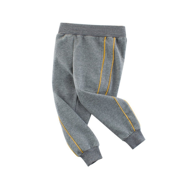 Boys Active Basic Jogger Pants Pull-On Casual Sweatpant for Boys and Girls Slim Comfy Skinny Running Training Pants 2-10 years