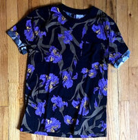 Floral Cuffed Tee S