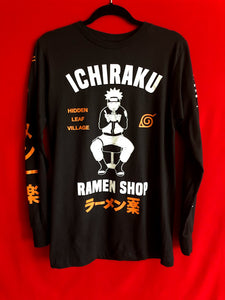 Naruto Ichiraku Long Sleeved Tee M