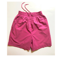 Pink Cotton Dad Shorts 14