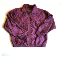 Purple Vintage Ski Jacket L