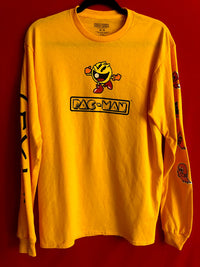 PacMan Long Sleeved Tee M