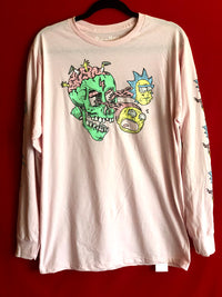 Rick and Morty Long Sleeved Tee L