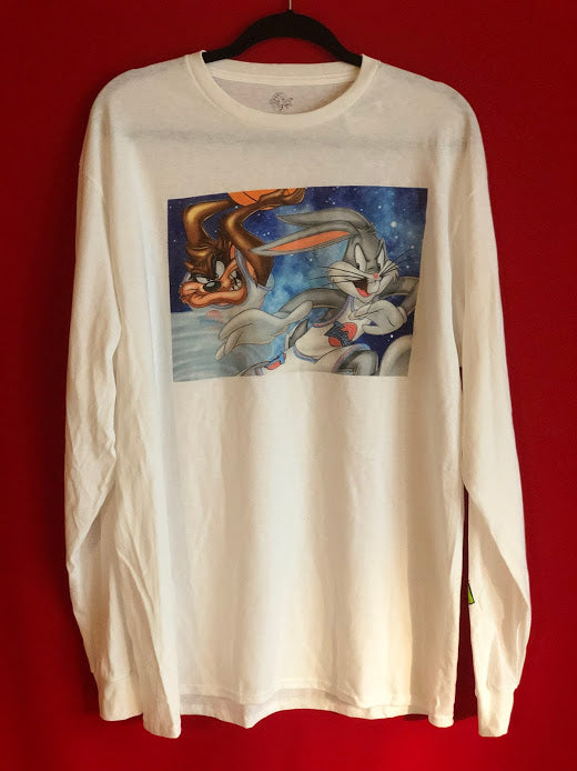 Space Jam Long Sleeved Tee L