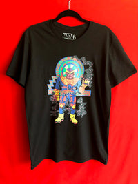 Multicolored Thanos Aztec Inspired Tee M