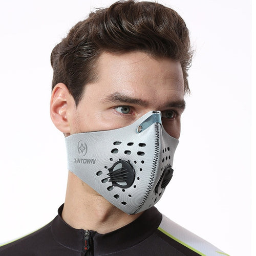 Activated Carbon Mask with N95 Filter