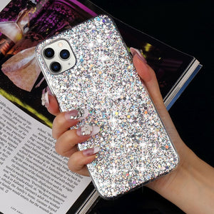 Glitter Silicone Case Cover for iPhone