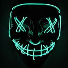 Load image into Gallery viewer, Halloween LED Purge Mask