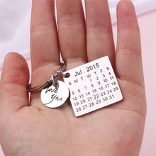 Load image into Gallery viewer, Custom Calendar Keychain