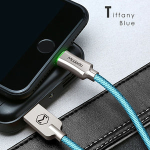Auto Disconnect Fast Charging Cable for iPhone