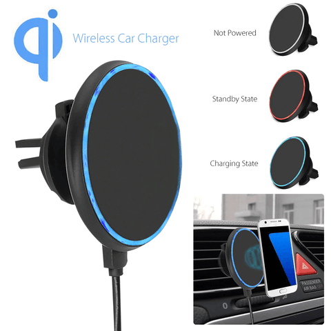 Qi Wireless Magnetic Car Charger