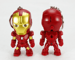 Ironman Glove/ Mini Action Figure Keyring