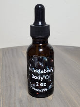Load image into Gallery viewer, Huckleberry hand and body oil