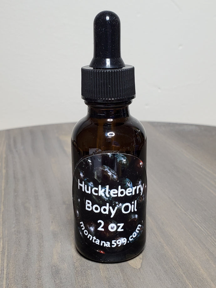 Huckleberry hand and body oil