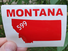 Load image into Gallery viewer, Montana 599 vinyl decals - Tortugas Gear