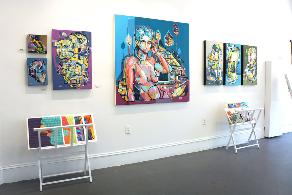 "John Osgood ""In Plain Sight"" Exhibition at Voss Gallery San Francisco - Urban Contemporary Art"